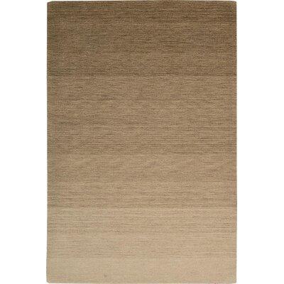 Fidel Handmade Smoke Sandstone Area Rug Rug Size: 36 x 56