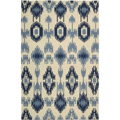 Biondi Handmade Indigo Area Rug Rug Size: 5'3