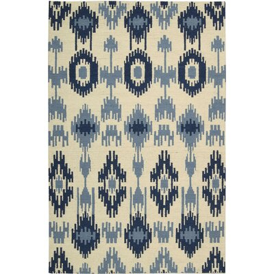 Biondi Handmade Indigo Area Rug Rug Size: 4 x 6