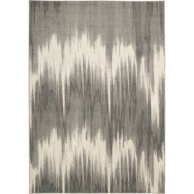 Stephengould Shoal Sand/Charcoal Area Rug Rug Size: Rectangle 79 x 99