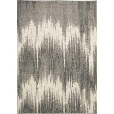 Stephengould Shoal Sand/Charcoal Area Rug Rug Size: 79 x 99