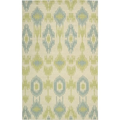 Biondi Handmade Honeydew Area Rug Rug Size: Rectangle 53 x 75