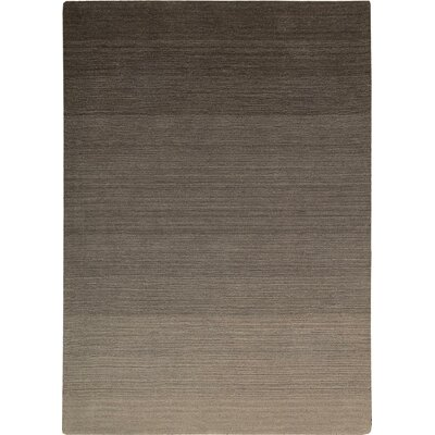 Fidel Handmade Slate Area Rug Rug Size: Rectangle 36 x 56