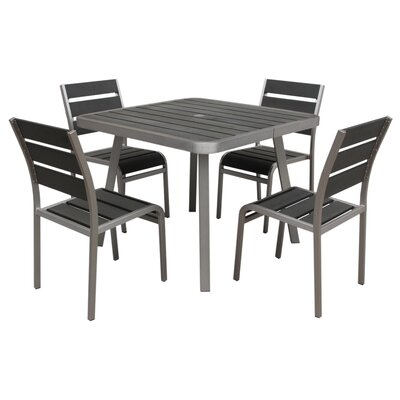 Patel 5 Piece Dining Set