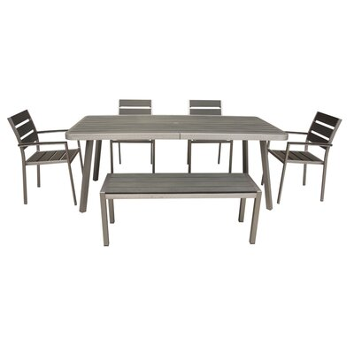 Patel 6 Piece Dining Set