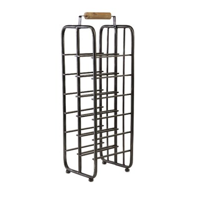 Hockett Floor Wine Bottle Rack