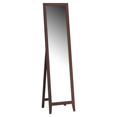 Wood Standing Mirror Finish: Walnut