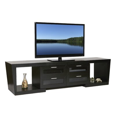 Ijaki 51-87 TV Stand Color: Black Oak