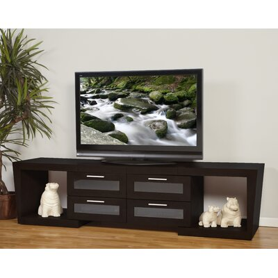 Ijaki Expandable TV Stand Finish: Black Oak
