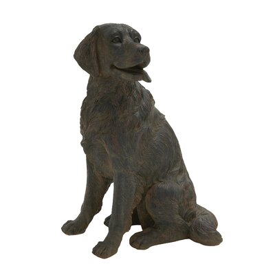 Lifelike Dog Figurine