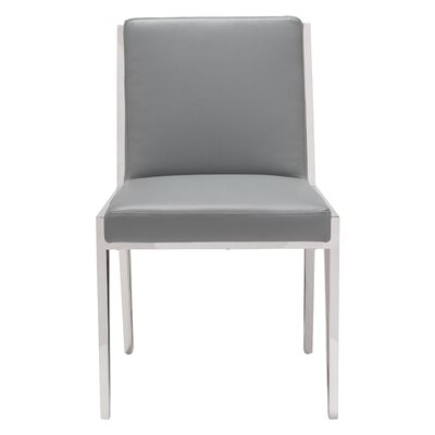 Polster Parsons Chair Upholstery: Gray