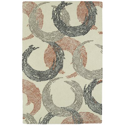Louane Hand-Tufted Beige Area Rug Rug Size: Rectangle 8 x 10