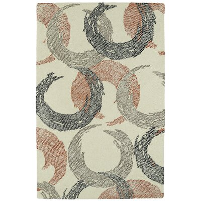 Louane Hand-Tufted Beige Area Rug Rug Size: Rectangle 5 x 9