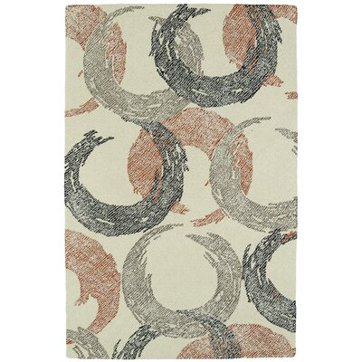 Louane Hand-Tufted Beige Area Rug Rug Size: Rectangle 2 x 3