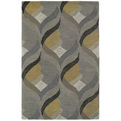 Louane Hand-Tufted Gray Area Rug Rug Size: Rectangle 8 x 10