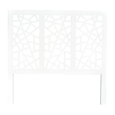 Bannerman Open-Frame Headboard Size: Queen