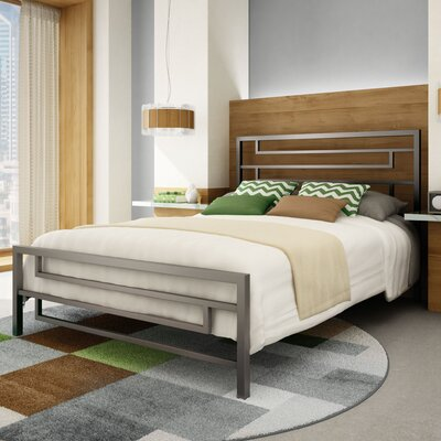 Brophy Platform Bed Size: Full, Finish: Glossy Grey