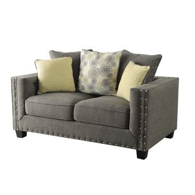 Brayden Studio BRSD5376 27436540 Brixey Tufted Loveseat