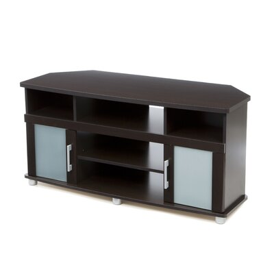 Alderson Corner 47.3 TV Stand Color: Chocolate