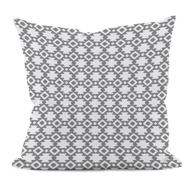 Carignan Throw Pillow Size: 16 H x 16 W, Color: Classic Gray