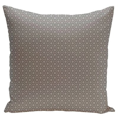 Carignan Throw Pillow Size: 20 H x 20 W, Color: Classic Grey Rain Cloud