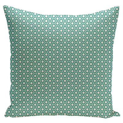 Carignan Throw Pillow Size: 18 H x 18 W, Color: Jade