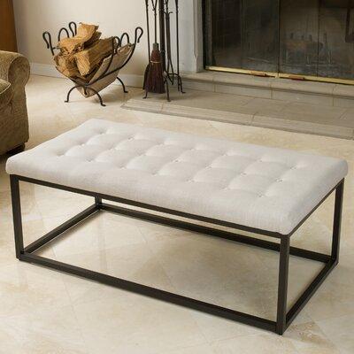 Rainey Ottoman Upholstery: Beige