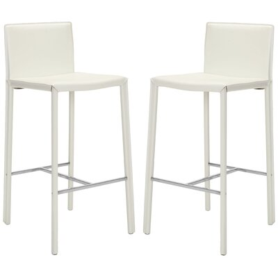 Reser 30 Bar Stool Finish: White
