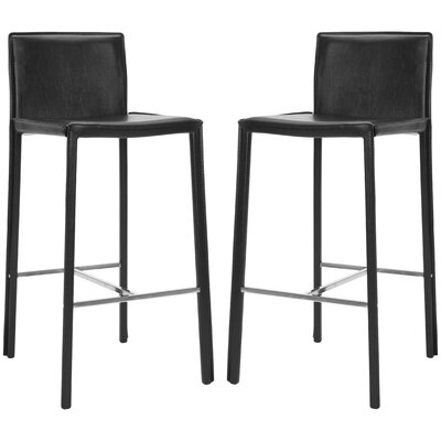 Reser 30 Bar Stool Finish: Black