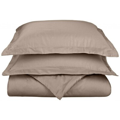 Scheffer 3 Piece Reversible Duvet Cover Set Size: Full / Queen, Color: Grey