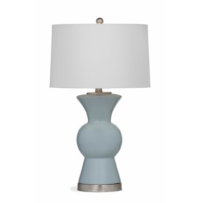 Shoemaker 26 Table Lamp Base Finish: Light Blue