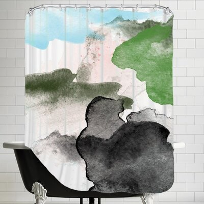 Amy Brinkman Abstract 4 01 Shower Curtain