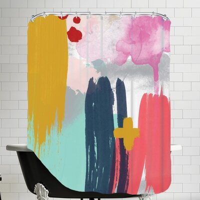 Amy Brinkman Abstract 5 01 Shower Curtain
