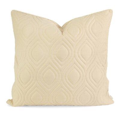 Fairley Linen Throw Pillow Color: Beige