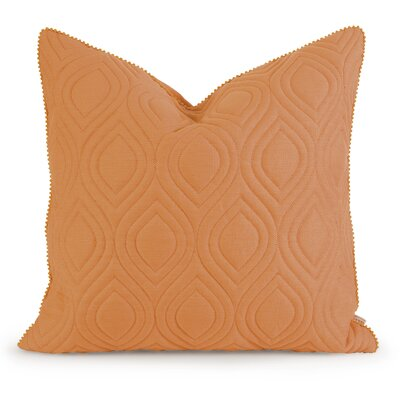 Fairley Linen Throw Pillow Color: Orange