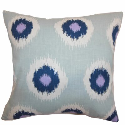 Shockey Ikat Throw Pillow Color: Berries, Size: 18x18