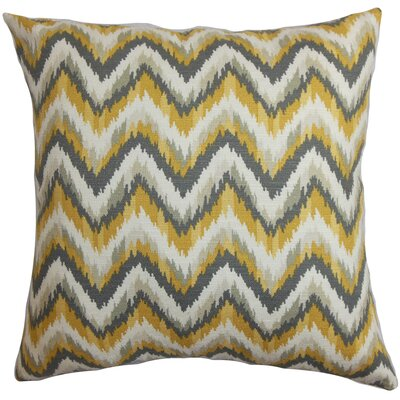 Skalski Cotton Throw Pillow Size: 18 H x 18 W