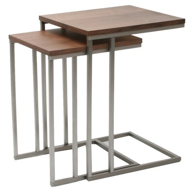 Wallick 2 Piece Nesting Tables