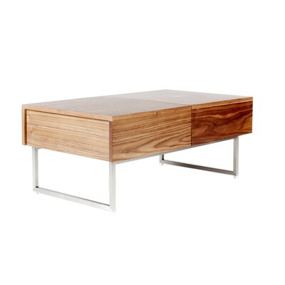 Engelke Coffee Table Color: Walnut
