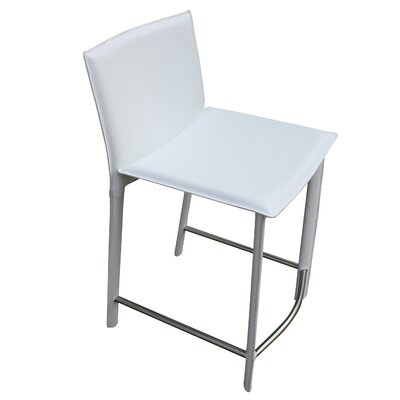 Lucier 25.5 Bar Stool Finish: White