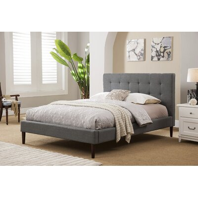Brockway Queen Upholstered Platform Bed