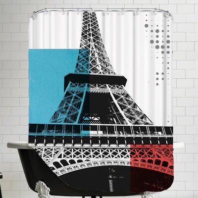 Ikonolexi Paris Shower Curtain