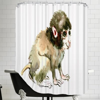 Suren Nersisyan Dendy Baby Monkey Shower Curtain