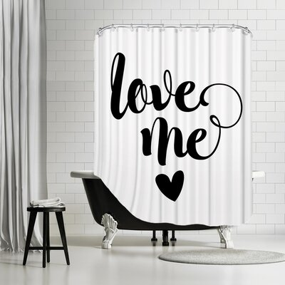 Brett Wilson Love Me Shower Curtain
