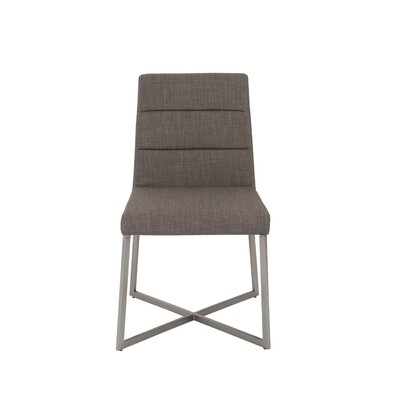 Arneson Side Chair Upholstery Color: Dark Gray