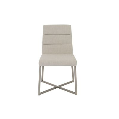 Arneson Side Chair Side Chair Upholstery: Light Gray