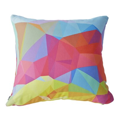 Cornwell Crystal Crush Throw Pillow Size: 18 H  x 18 W