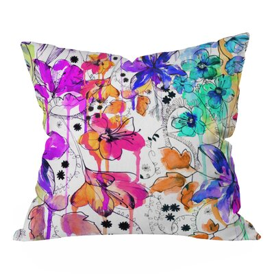 Nolting Lost In Botanica Outdoor Throw Pillow Size: Small