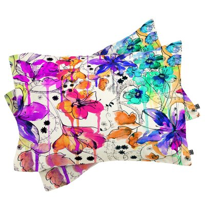 Nolting Lost In Botanica 1 Pillowcase Size: King