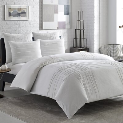 Oliphant Reversible Duvet Cover Set Size: Twin